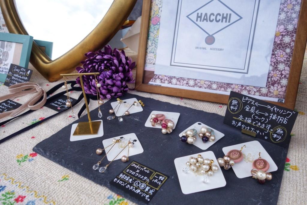【HACCHI】結婚式、入&卒業式にもおすすめのコットンパールのピアスなど。ピアス↔︎イヤリング、金具↔︎樹脂交換も無料!