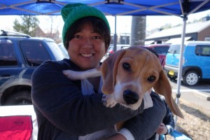 DSC04499.MOGOOOの看板犬とハイチーズ!JPG